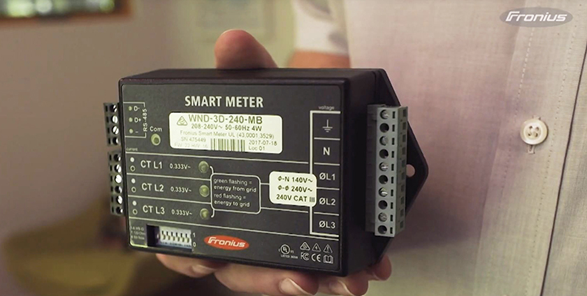 Fronius 'Smart' Meter helps to reduce the bill